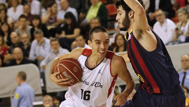 Marc Garcia ACB Liga Endesa Marc Garca el mirlo blanco que lidera