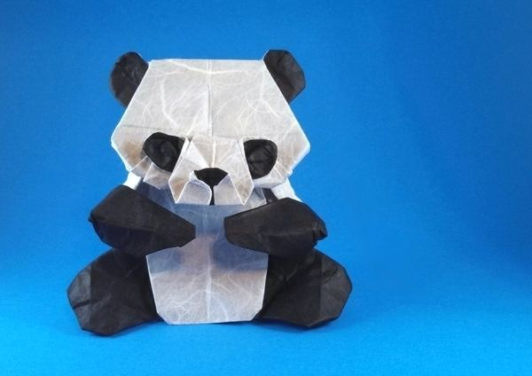 Origami Brown the Bear (Line App) » OrigamiTree.com | 424x600