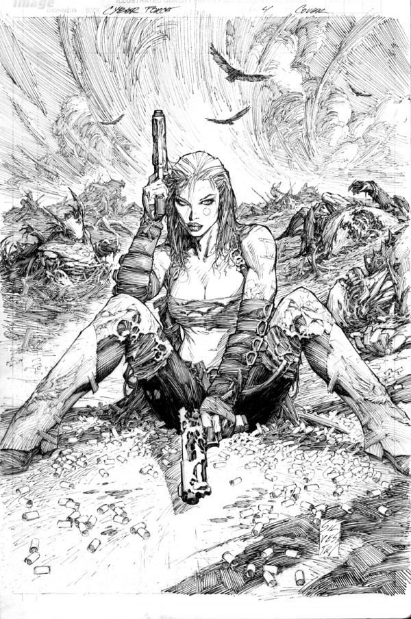 Marc Silvestri Looking For A Gift For That Original Art Collector Or Marc