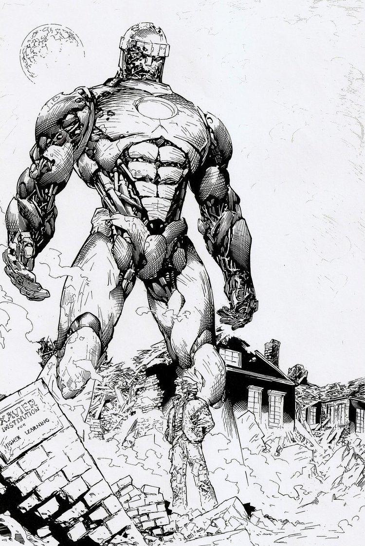 Marc Silvestri Comic Art Inspiration Sentinel by Marc Silvestri