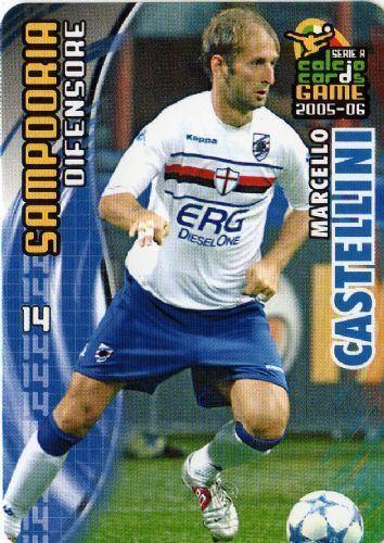 Marcello Castellini SAMPDORIA Marcello Castellini 162 PANINI 200506 Calcio