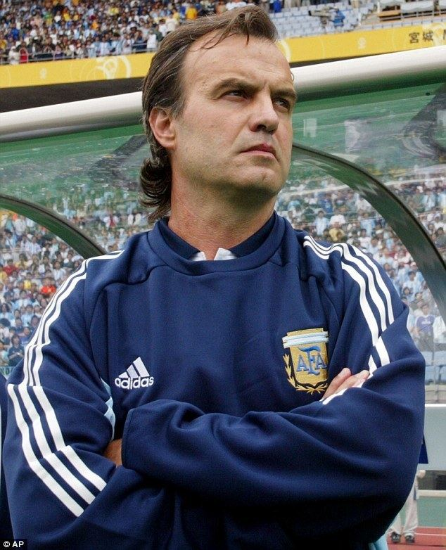 Marcelo Bielsa Marcelo Bielsa is the Marseille manager who uses the