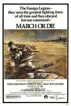 March or Die (film) movie poster