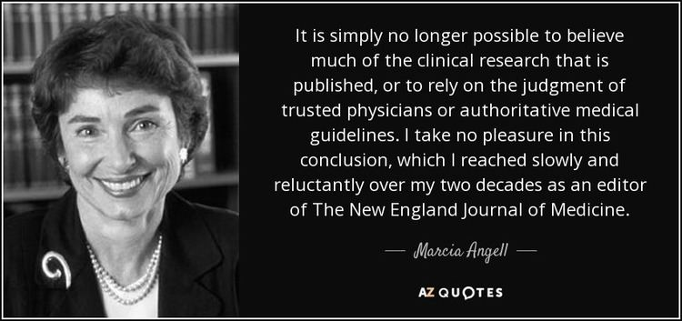 Marcia Angell TOP 21 QUOTES BY MARCIA ANGELL AZ Quotes