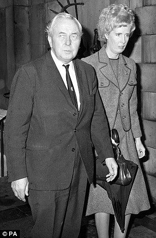 Marcia Falkender, Baroness Falkender Harold Wilsons former private secretary Lady Falkender and a 40
