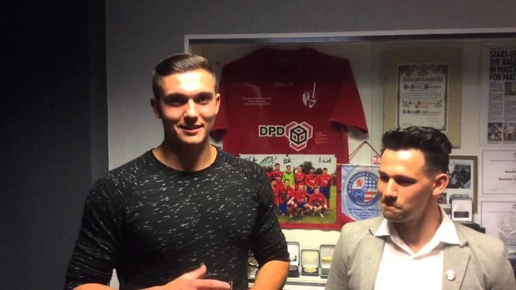 Marco Adaggio HAFC AWARDS Alex Morris Marco Adaggio give their thoughts on