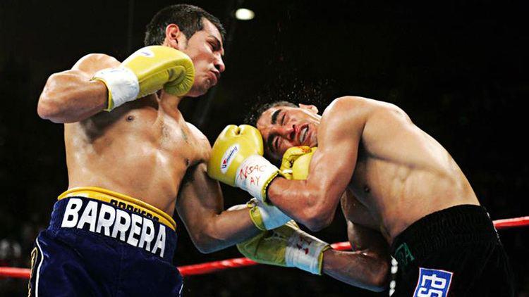 Marco Antonio Barrera On This Day Marco Antonio Barrera defeats great rival Erik Morales