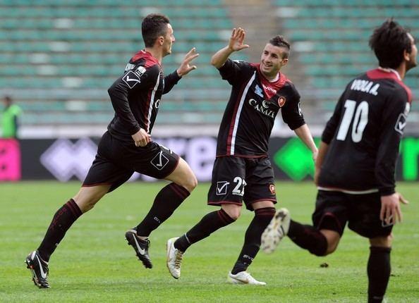 Marco Armellino Marco Armellino Pictures AS Bari v Reggina Calcio