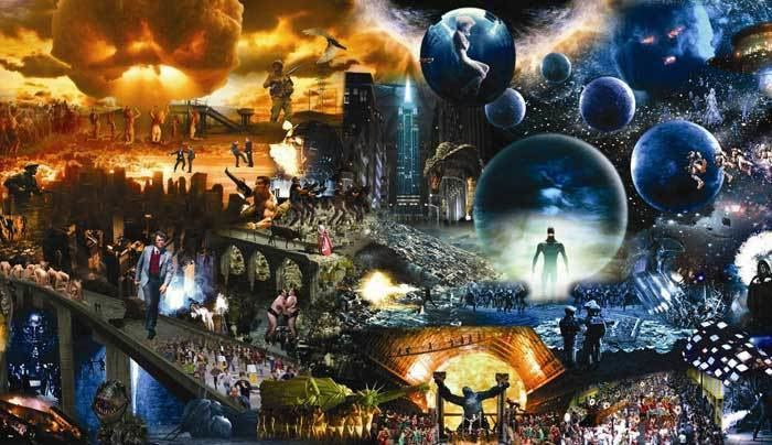 Marco Brambilla EVOLUTION MEGAPLEX PRESENTED AT ELI AND EDYTHE BROAD ART