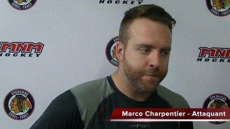 Marco Charpentier Entrevue daprsmatch avec Adam Bourque Serge Forcier et Marco