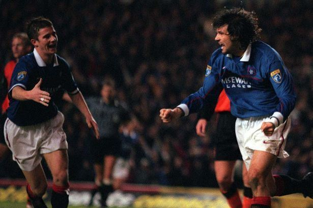 Marco Negri Marco Negri EXCLUSIVE The truth about Rangers Sergio
