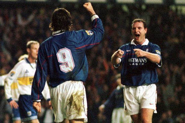 Marco Negri Marco Negri EXCLUSIVE If Gazza had stayed at Rangers we