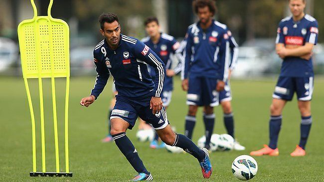 Marcos Flores Melbourne Victory star Marcos Flores wants three points