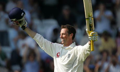 Famous cricket player of England Marcus Edward Trescothick