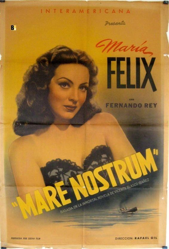 Mare Nostrum (1948 film) REX INGRAM MOVIE POSTER MARE NOSTRUM MOVIE POSTER
