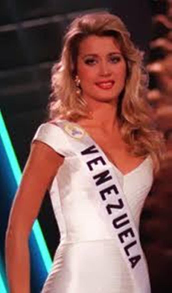 Marena Bencomo La Hermosa es Miss Venezuela 1996 y Virreina Universal 1997 Marena