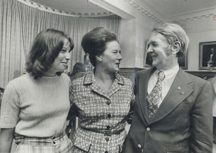 Margaret Birch Margaret Birch with husband Guy after swearingin ceremony Mrs