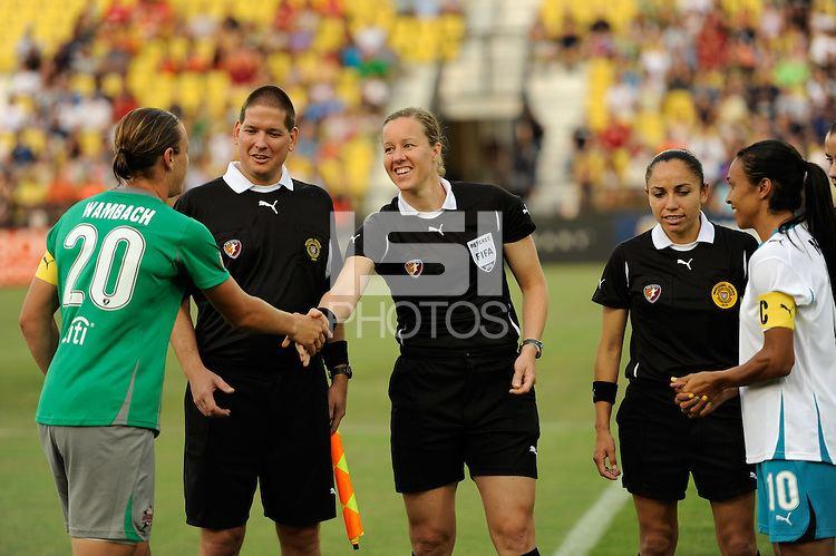 Margaret Domka Abby Wambach Margaret Domka Marta International Sports