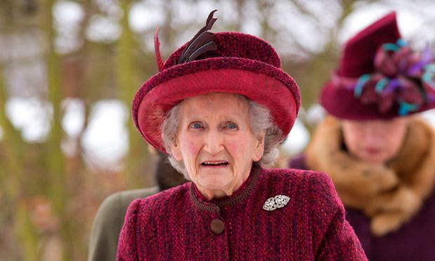 Margaret Rhodes Royal baby why the Queen39s cousin isn39t excited about it