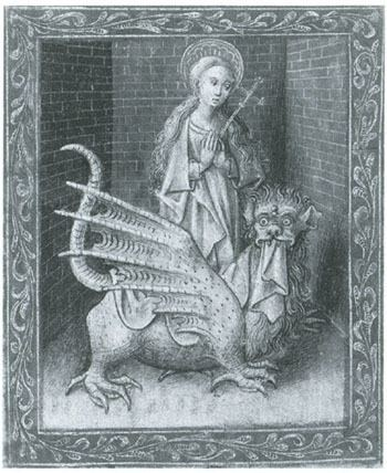 Margaret the Virgin Margaret Frazer Blog Archive St Margaret of Antioch and the Devil