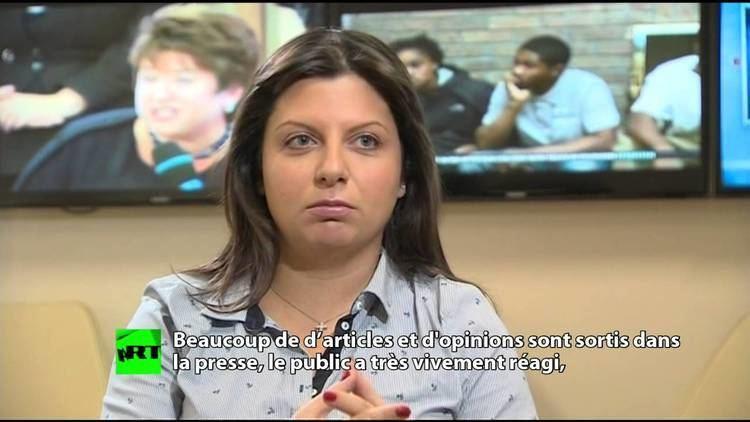 Margarita Simonyan Margarita Simonyan Ofcom essaye de changer la ligne