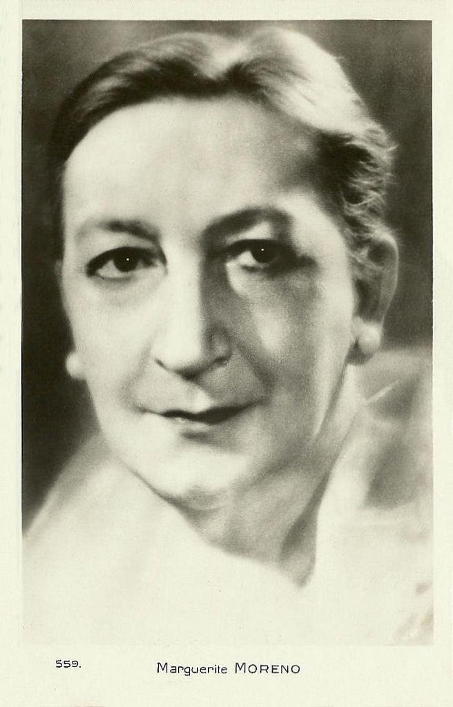 Marguerite Moreno Marguerite Moreno French postcard no 559 Collection Di Flickr