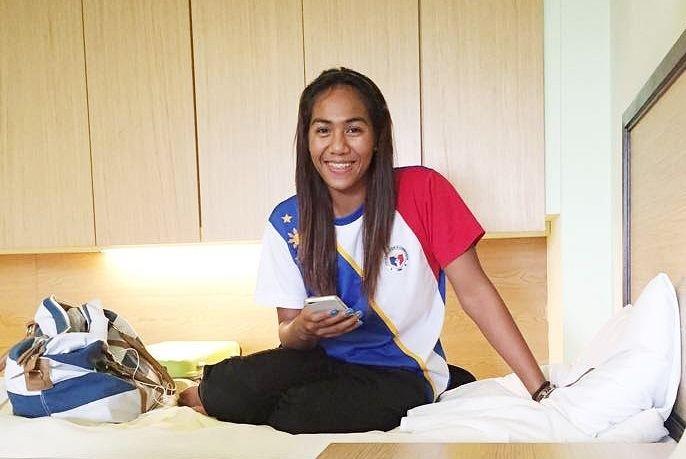 Maria Claire Adorna Ano course mo sa UP39 SEA Games gold medalist Claire