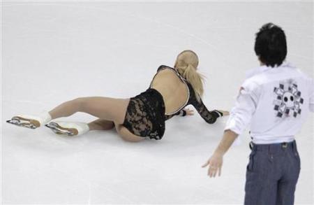 Maria Mukhortova Maria Mukhortova amp Maxim Trankov European Figure Skating