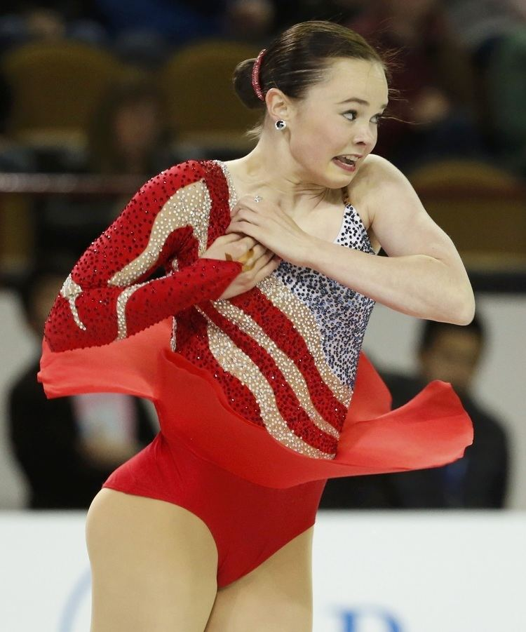 Mariah Bell Mariah Bell of the US performs during the during the