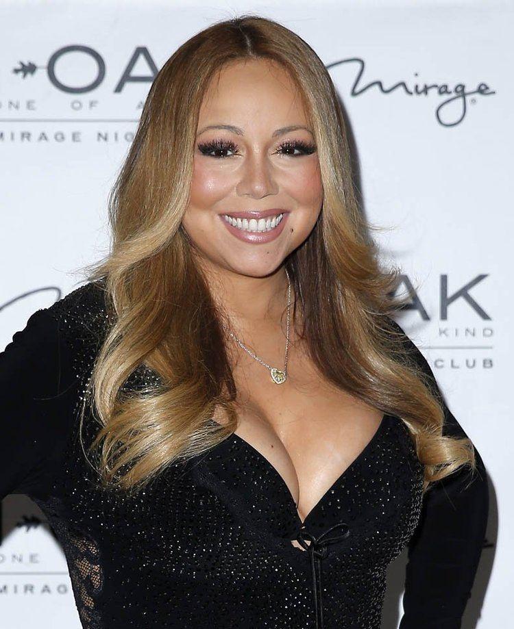 Mariah Carey Mariah Carey wears 500000 necklace from James Packer at
