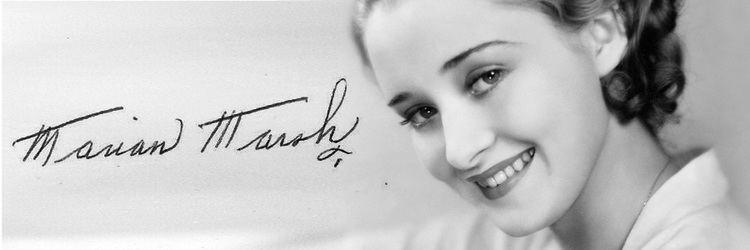 Marian Marsh Marian Marsh 1930s actresswhen she was young