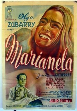 Marianela (1955 film) movie poster