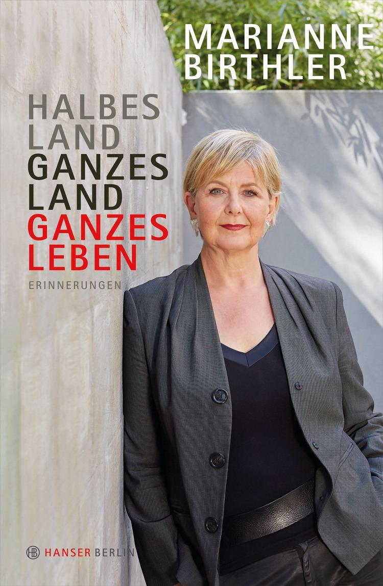 Marianne Birthler Halbes Land Ganzes Land Ganzes Leben Bcher Hanser