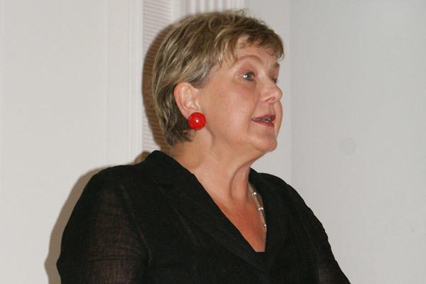 Marianne Birthler German Unification Symposium 2008