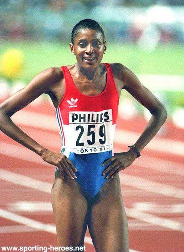 Marie-José Pérec MarieJose PEREC Biography of her International athletics career