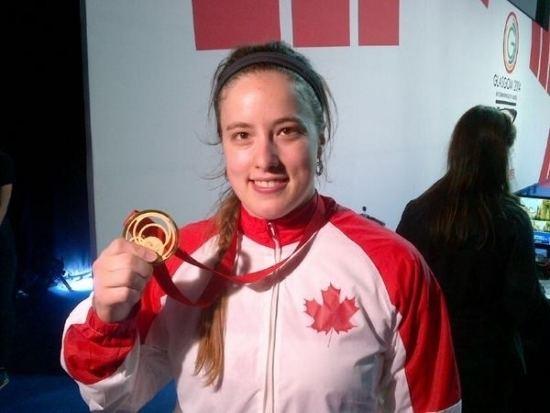 Marie-Eve Beauchemin-Nadeau Weightlifting Marieve BeaucheminNadeau Wins Gold