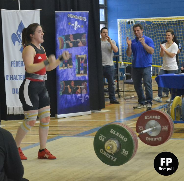 Marie-Ève Beauchemin-Nadeau FP interviews Olympian Marieve Beauchemin Nadeau 6975kg Canada