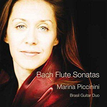 Marina Piccinini JS Bach Marina Piccinini Brasil Guitar Duo Flute Sonatas