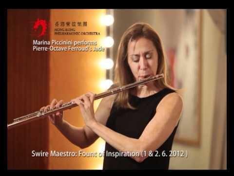 Marina Piccinini Marina Piccinini performs PierreOctave Ferrouds Jade YouTube