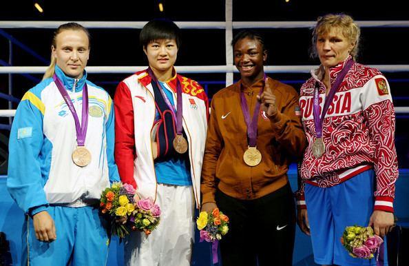 Marina Volnova Marina Volnova and Jinzi Li Photos Olympics Day 13