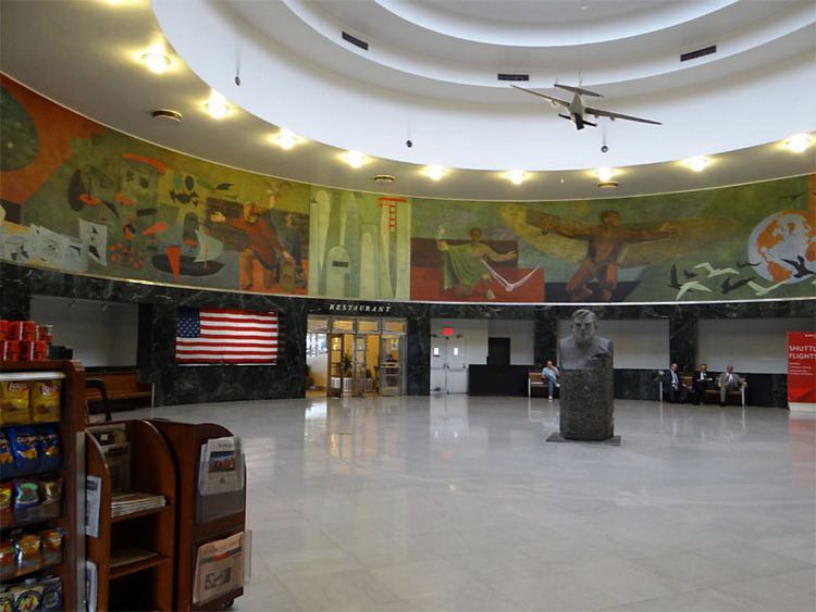 Marine air terminal marine air terminal mural flushing ny living new deal