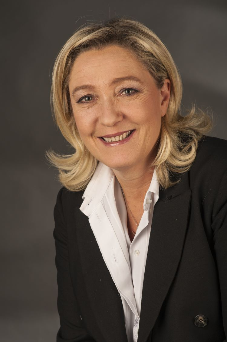 Marine Le Pen Marine Le Pen Wikipedia the free encyclopedia