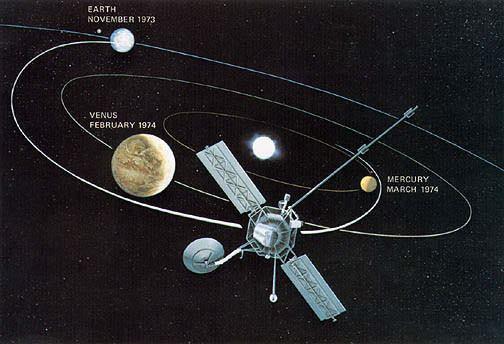 Mariner 10 Mariner 10 Best Venus Image and 1st Ever Planetary Gravity Assist
