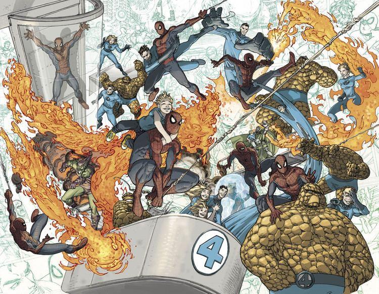 Mario Alberti SpiderMan amp The Fantastic Four Mario Alberti