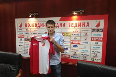 Mario Baric MARIO BARI PRVO POJAANJE FK Vojvodina Zvanina web