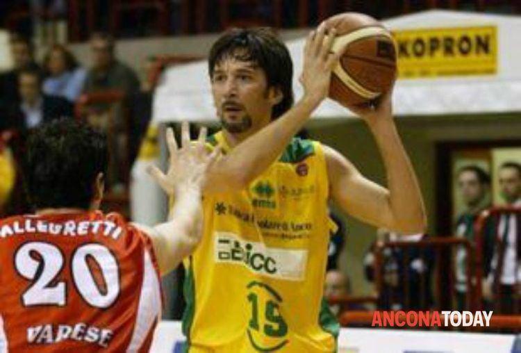 Mario Boni Basket Aurora Jesi Mario Boni dice addio