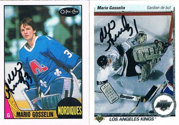 Mario Gosselin (ice hockey) The Cardboard and Me TTM Success Mario Gosselin