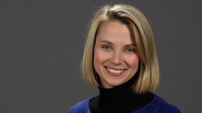 Marissa Mayer Yahoo CEO Marissa Mayer says juggling motherhood with work