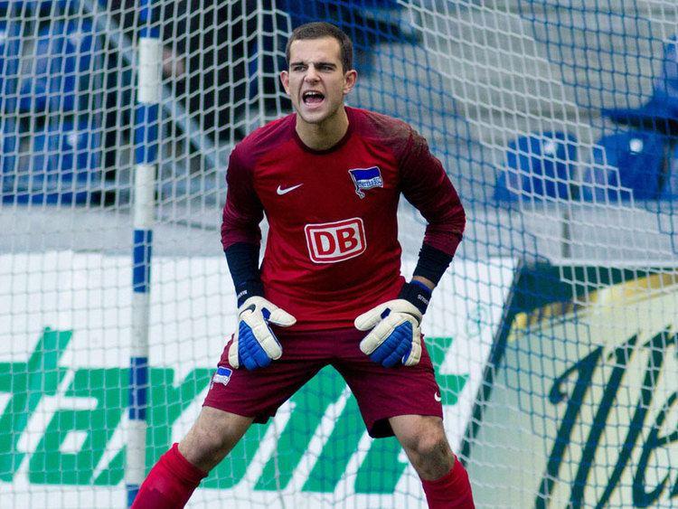 Marius Gersbeck Gersbeck feiert beim BVB sein Ligadebt Bundesliga