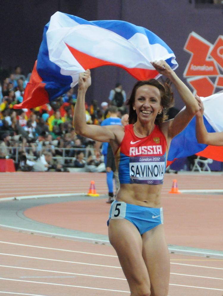 Mariya Savinova FileMariya Savinova Womens 800m 2012 Olympicsjpg